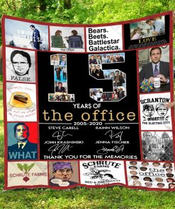 15 Year The Office – Quilt
