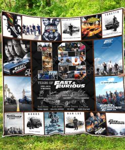 18 Years Of Fast & Furious – Quilt