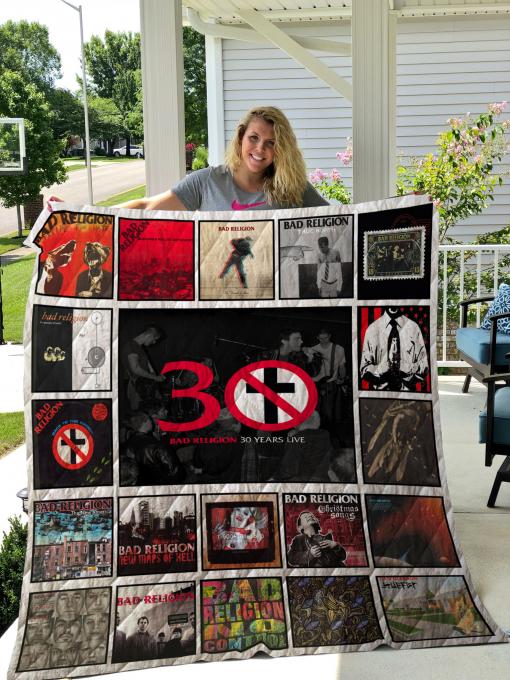Bad Religion Albums Quilt Blanket For Fans New