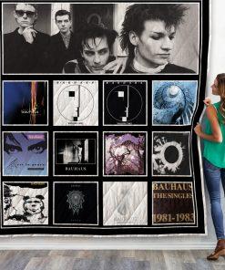 Bauhaus Albums Quilt Blanket New