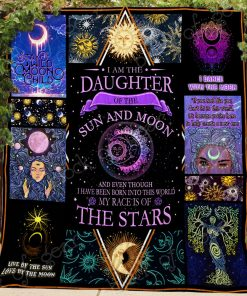 Daughter Of Sun And Moon Quilt
