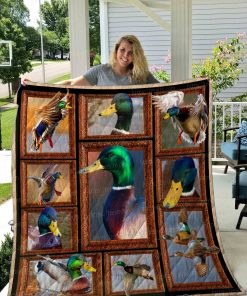 Duck Hunting Quilt Blanket 01