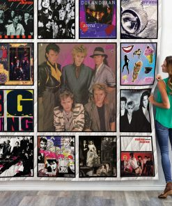 Duran Duran Band Albums Quilt Blanket For Fans New