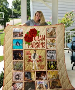 Gram Parsons Albums Quilt Blanket New