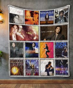 Josh Groban Album Covers Quilt Blanket