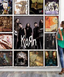 Korn Albums Quilt Blanket New