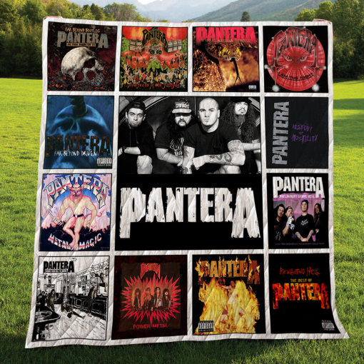 Pantera Albums Quilt Blanket New