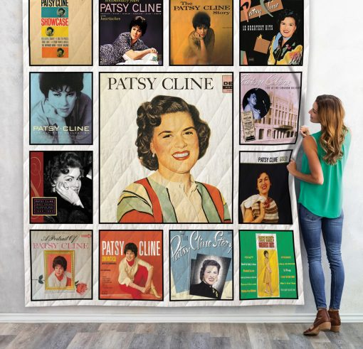 Patsy Cline Album Quilt Blanket 01