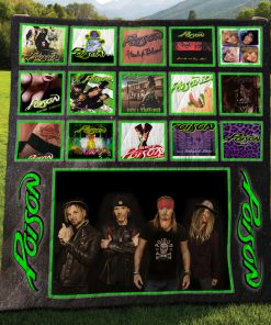 Poison Albums Quilt Blanket New