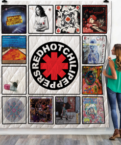 Red Hot Chili Peppers Quilt Blanket For Fans