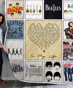 The Beatles Album Quilt Blanket 01