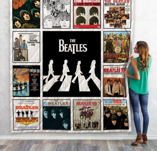 The Beatles Quilt Blanket For Fans