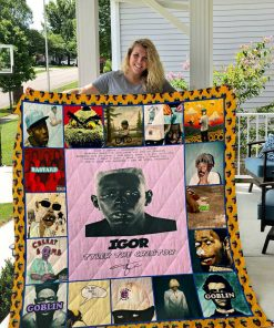 """tyler, The Creator"" Quilt Blanket I1d1"