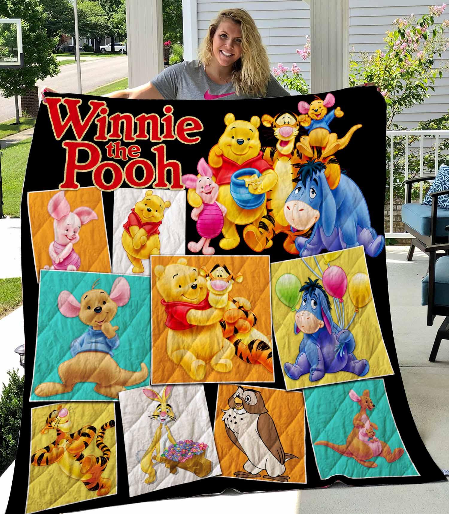 Winnie The Pooh Quilt 1809